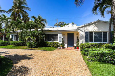 Palm Beach FL Single Family Home For Sale: $1,998,000