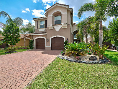Boynton Beach Single Family Home For Sale: 8220 Half Dome Court