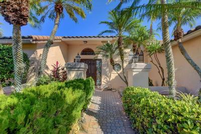Boca Raton Single Family Home For Sale: 10767 Boca Woods Lane Lane