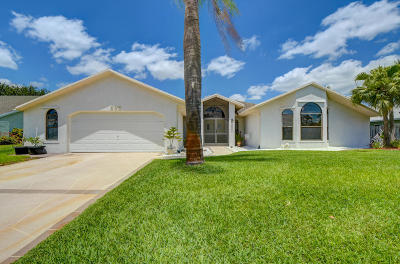 Port Saint Lucie FL Single Family Home Contingent: $359,888