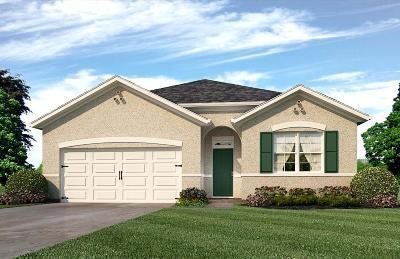 Fort Pierce Single Family Home Contingent: 8421 Cobblestone Drive