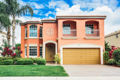 Wellington Single Family Home For Sale: 2172 Alworth Terrace