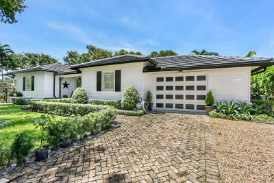 West Palm Beach Single Family Home For Sale: 3025 Vincent Road
