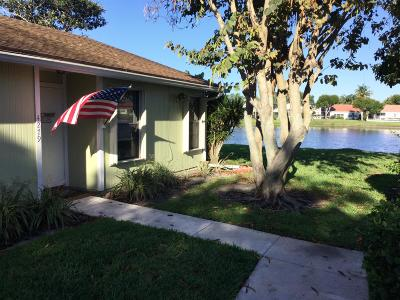 West Palm Beach Single Family Home For Sale: 4279 Willow Pond Circle #5c