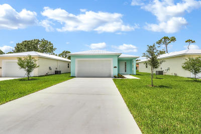 Jupiter Single Family Home For Sale: 6670 2nd Street