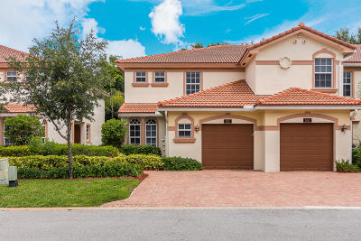 Delray Beach Townhouse For Sale: 16177 Poppyseed Circle #501