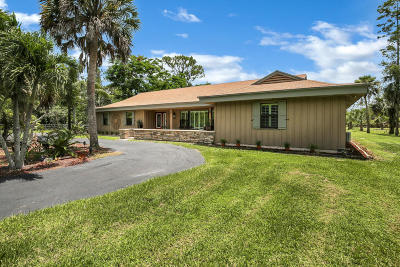 Loxahatchee Single Family Home For Sale: 1464 Clydesdale Drive