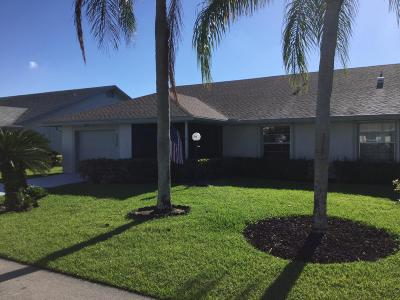 West Palm Beach Single Family Home For Sale: 5256 Crystal Anne Drive