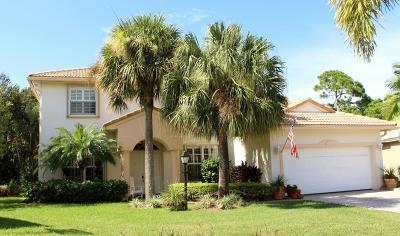 Jupiter Single Family Home For Sale: 184 Jones Creek Drive
