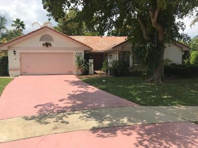 Deerfield Beach Single Family Home For Sale: 549 NW 39th Terrace