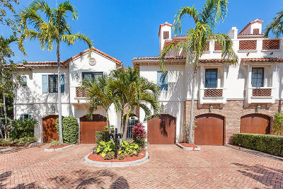 Delray Beach FL Townhouse For Sale: $2,495,000