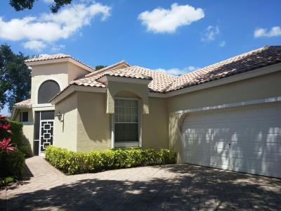 Boynton Beach Single Family Home For Sale: 5285 Brookview Drive