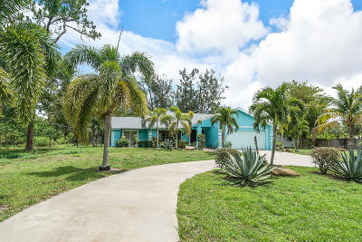West Palm Beach Single Family Home For Sale: 4660 130th Avenue