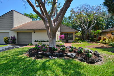 Delray Beach Single Family Home Contingent: 3011 SW 20th Terrace #18
