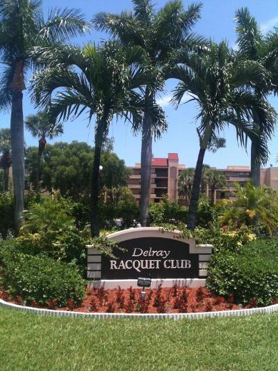 Delray Beach Condo For Sale: 955 Egret Circle #308