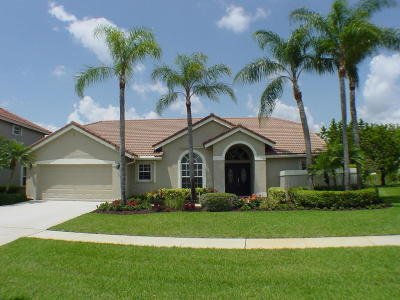 Boca Raton Single Family Home For Sale: 18672 Cape Sable Drive