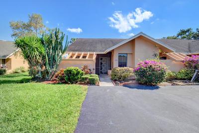 Boca Raton Single Family Home For Sale: 10996 Water Oak Manor