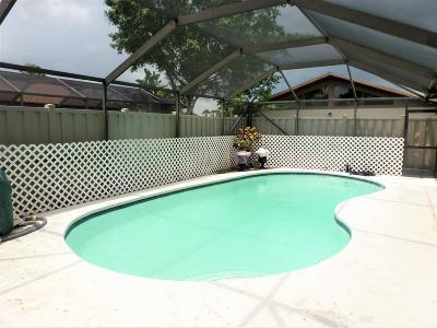 Boca Raton Single Family Home For Sale: 9874 Boca Gardens Parkway #D