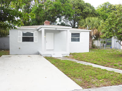 Delray Beach Single Family Home For Sale: 231 NW 14th Avenue