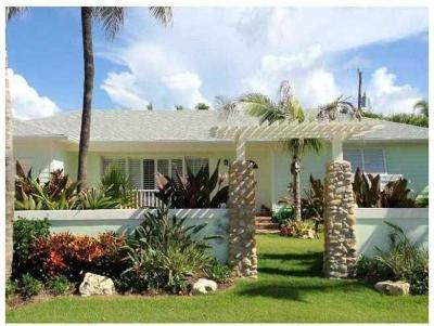 Palm Beach Shores Rental For Rent: 215 Inlet Way