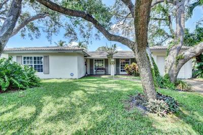 Boca Raton Single Family Home For Sale: 677 W Royal Palm Road