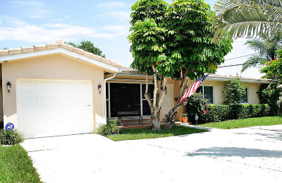 West Palm Beach Single Family Home For Sale: 7924 Gregory Place