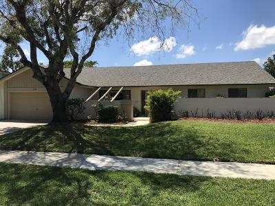 Boca Raton Single Family Home For Sale: 17725 Briar Patch Trail