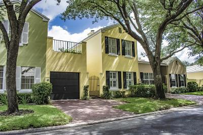 Boca Raton Townhouse For Sale: 5961 Michaux Street