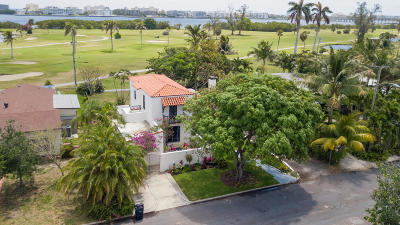 Lake Worth Single Family Home For Sale: 602 Lakeside Drive