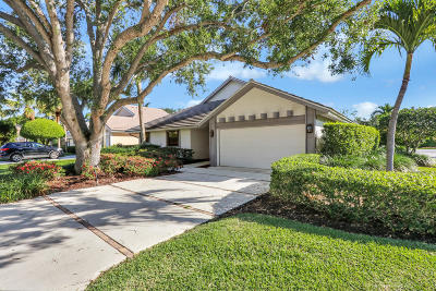 Jupiter Single Family Home For Sale: 17056 Freshwind Circle Circle