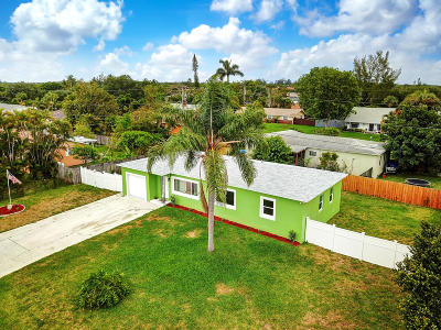 Lake Worth Single Family Home Contingent: 9159 Melody Road