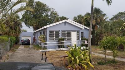 West Palm Beach Single Family Home For Sale: 529 43 Street