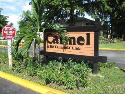 Miami Rental For Rent: 909 NE 199th Street NE #202-19