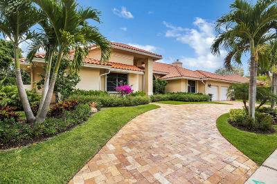 Boca Raton Single Family Home For Sale: 4880 Oxford Way