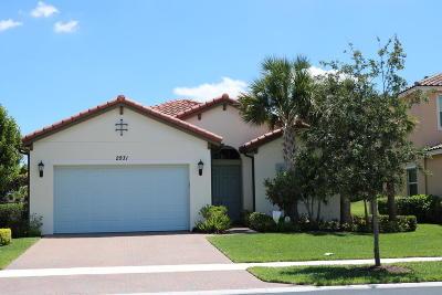 Royal Palm Beach Single Family Home For Sale: 2931 Bellarosa Circle