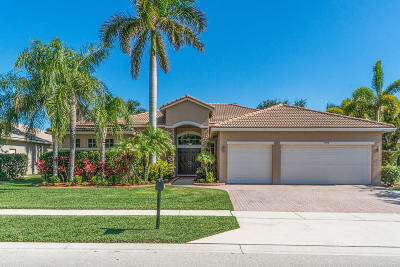 West Palm Beach Single Family Home For Sale: 9919 Royal Cardigan Way