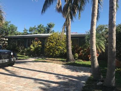 Pompano Beach Single Family Home Contingent: 2405 SE 6th Street