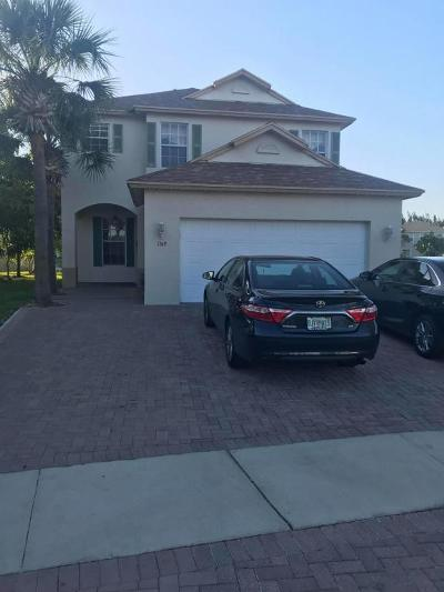 West Palm Beach Single Family Home For Sale: 1149 Cala Lily Cove