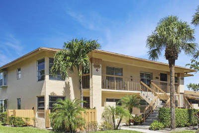 Delray Beach Condo Contingent: 13485 Fishtail Palm Court #A