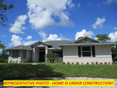 Jupiter Single Family Home For Sale: 12656 Sandy Run