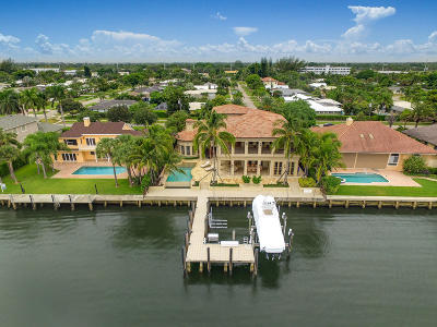 North Palm Beach Single Family Home For Sale: 830 Lakeside Drive
