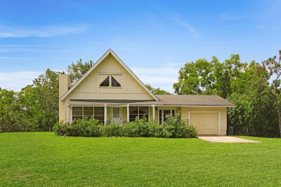 Jupiter Single Family Home Contingent: 17659 Mellen Lane