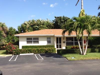 Boynton Beach Single Family Home For Sale: 639 Snug Harbor Drive #L1