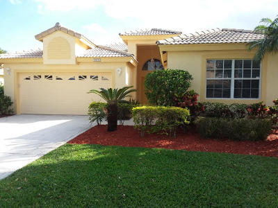 Delray Beach Single Family Home For Sale: 4050 Sea Grape Circle