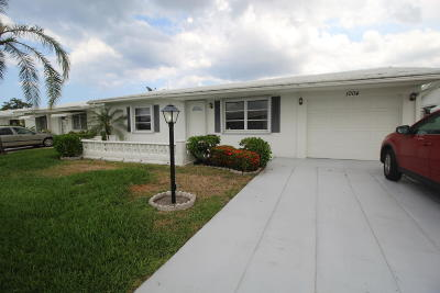 Boynton Beach Single Family Home Contingent: 1004 SW 5th Avenue