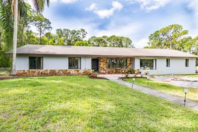 West Palm Beach Single Family Home Contingent: 12420 Orange Grove Boulevard