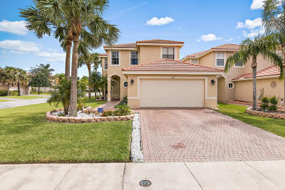 Greenacres Single Family Home Contingent: 5080 Starblaze Drive