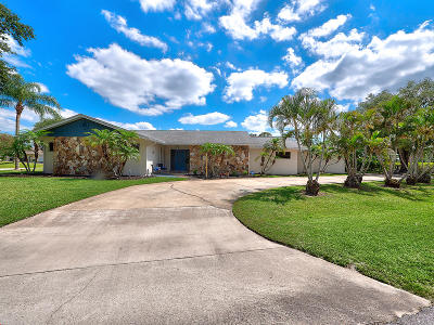 Stuart Single Family Home For Sale: 1296 NW Pine Ridge Trail