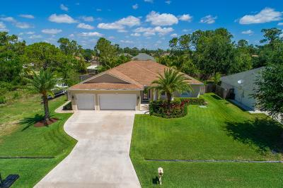 Port Saint Lucie Single Family Home For Sale: 1449 SW Iffla Avenue