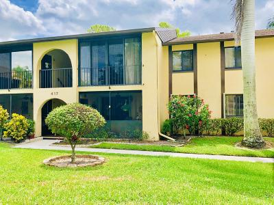 Greenacres Condo For Sale: 417 Pine Glen Lane #B-2